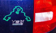 green Yeti sticker
