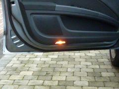 Led verlichting deur