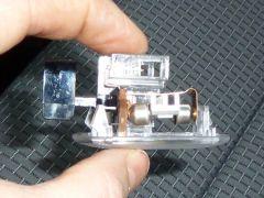 Verlichting unit handschoenkastje met led